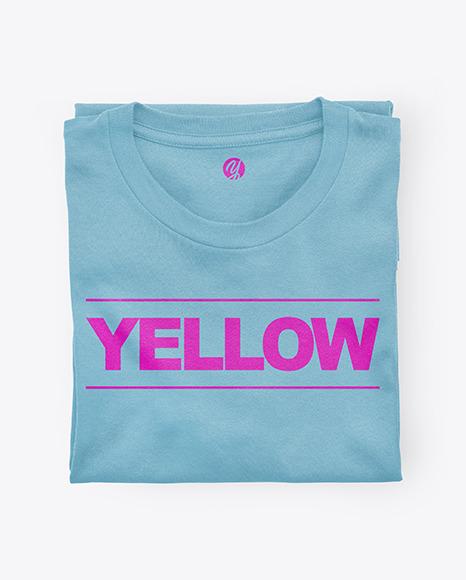 Folded Sweatshirt Mockup