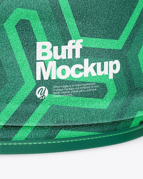 Fleece Buff Mockup
