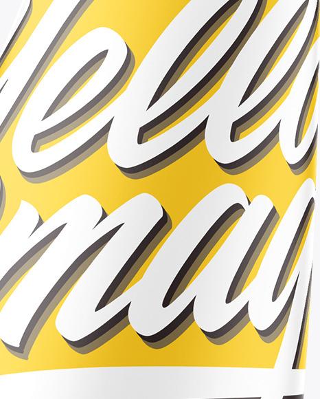 Matte Cosmetic Tube Mockup - High Angle Shot