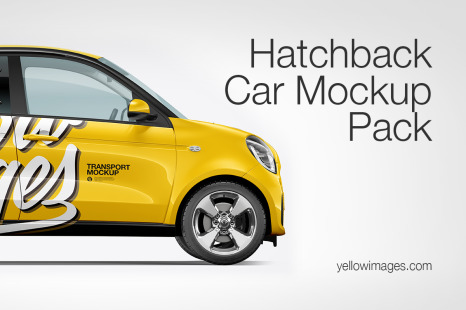 Car Branding Mockup Png