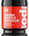 PET Bottle with Cola Mockup