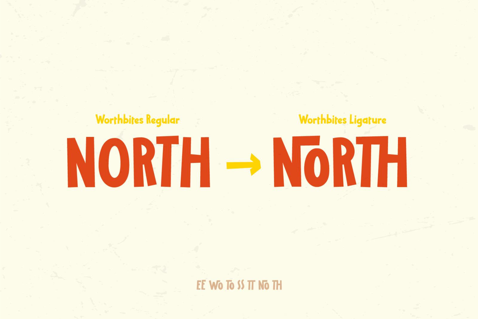 Worthbites | Display Font