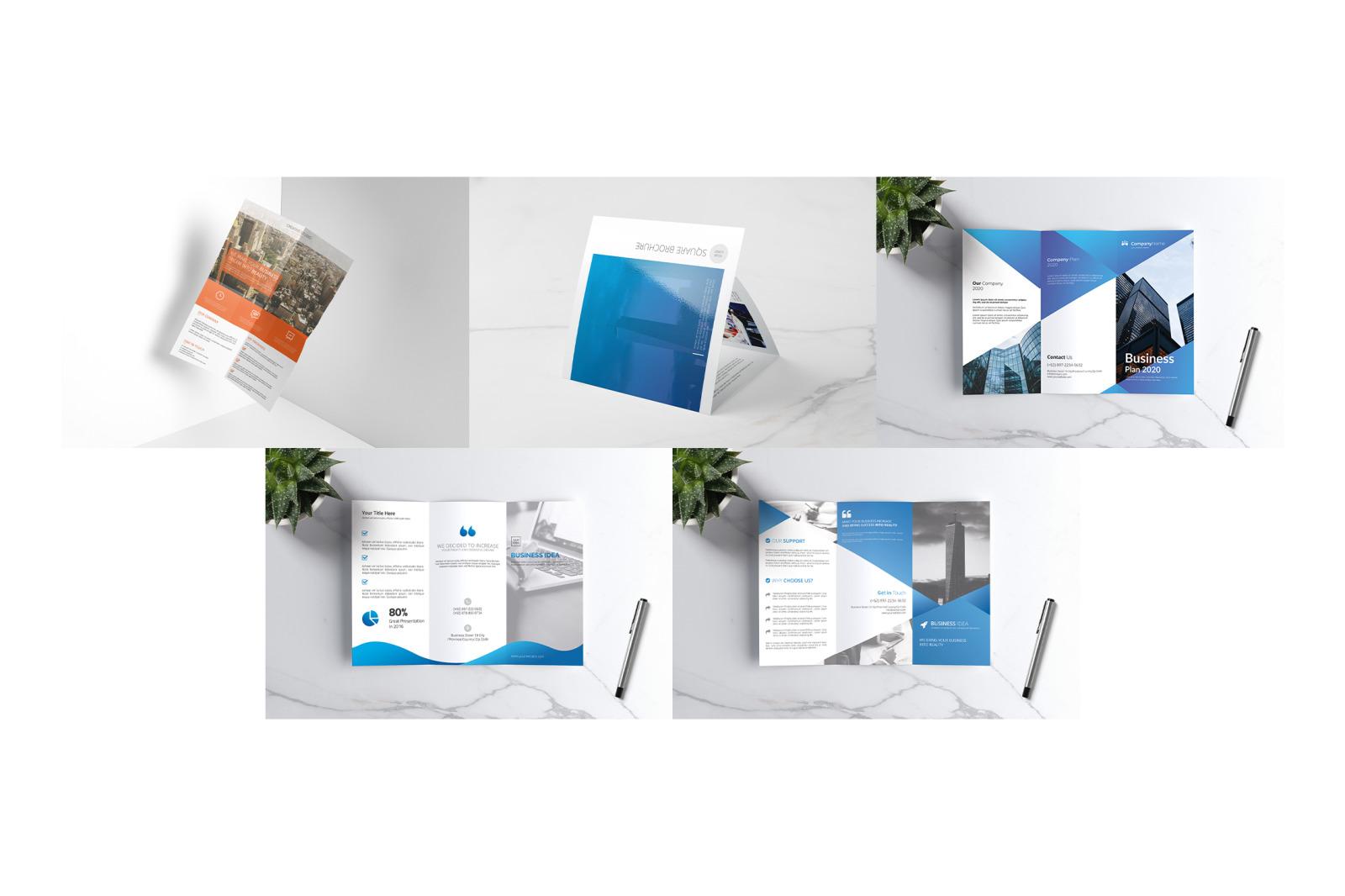 Fold & Flyer Brochure Bundle