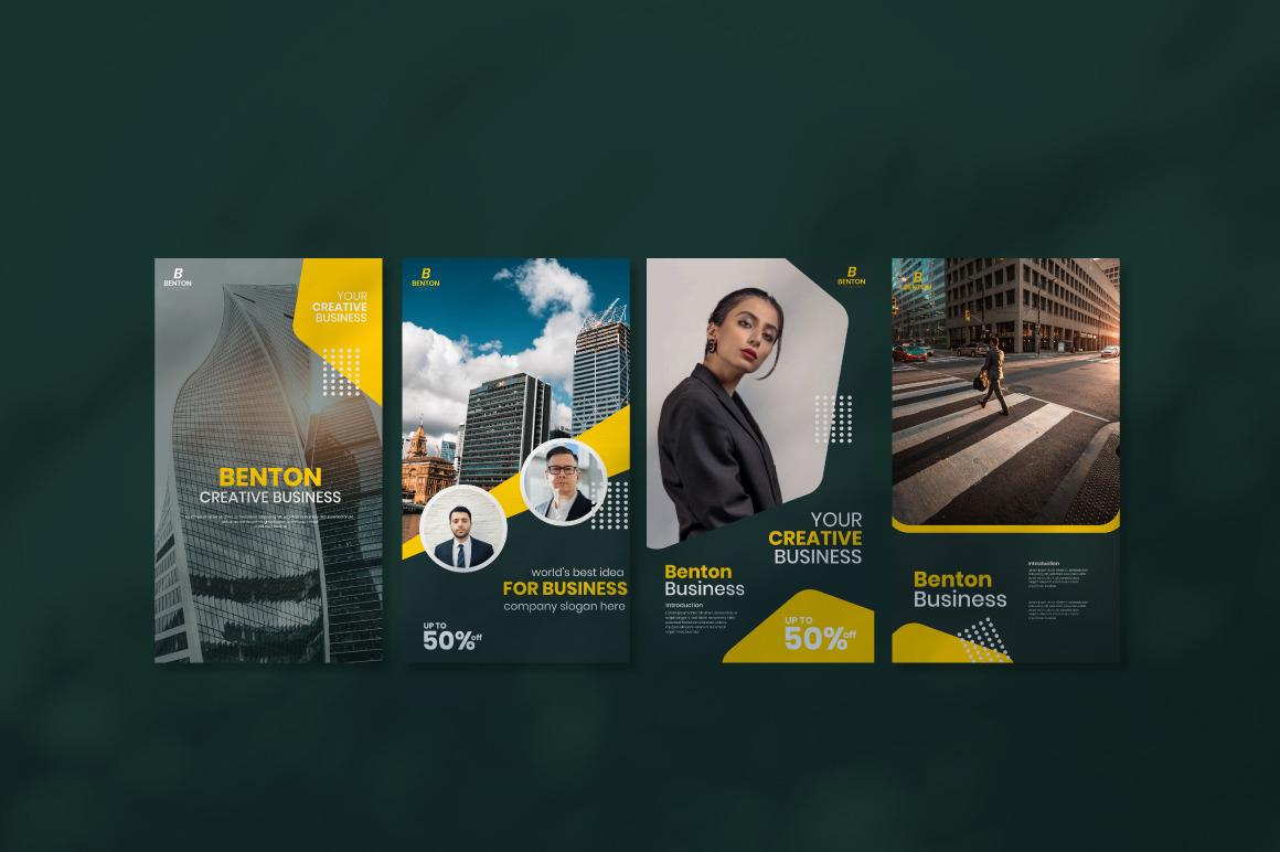 Benton Business Instagram Template