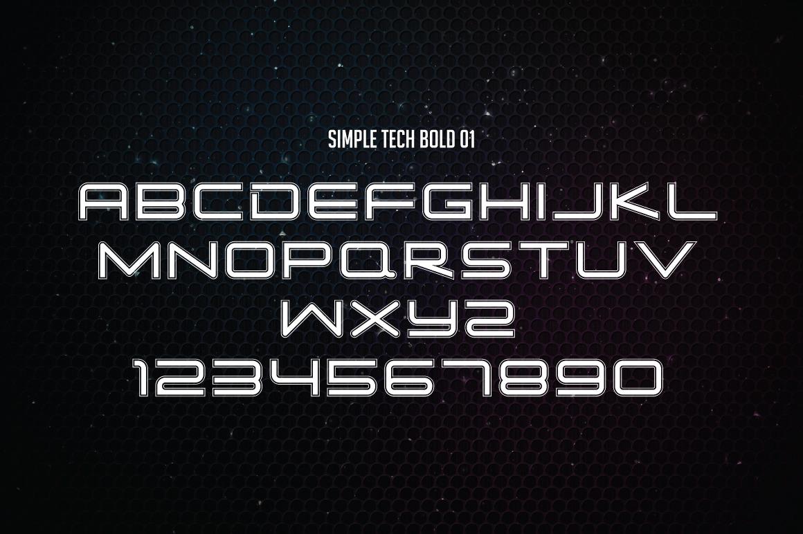Simple Tech Font