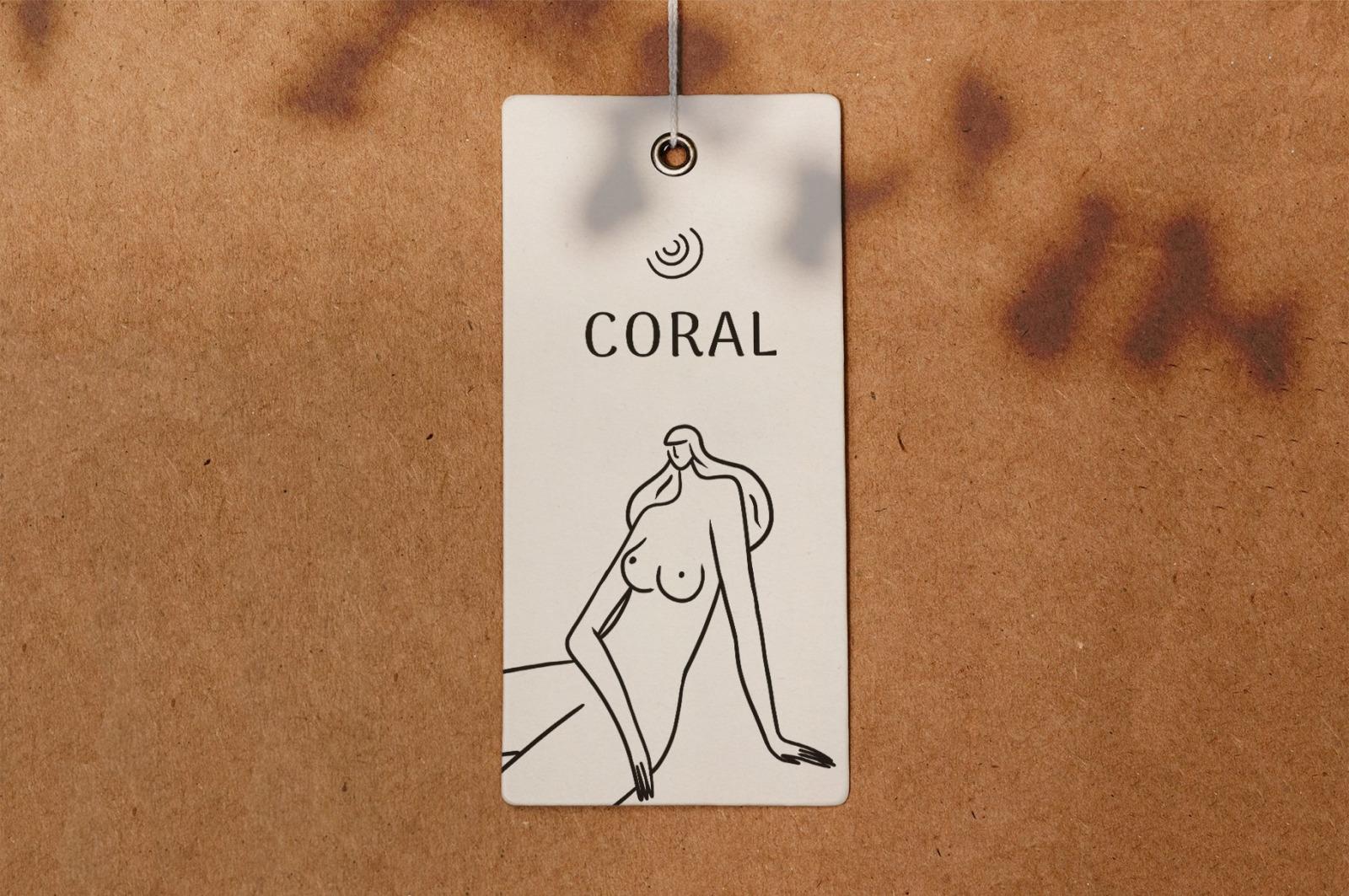 Coral Women Line Drawings