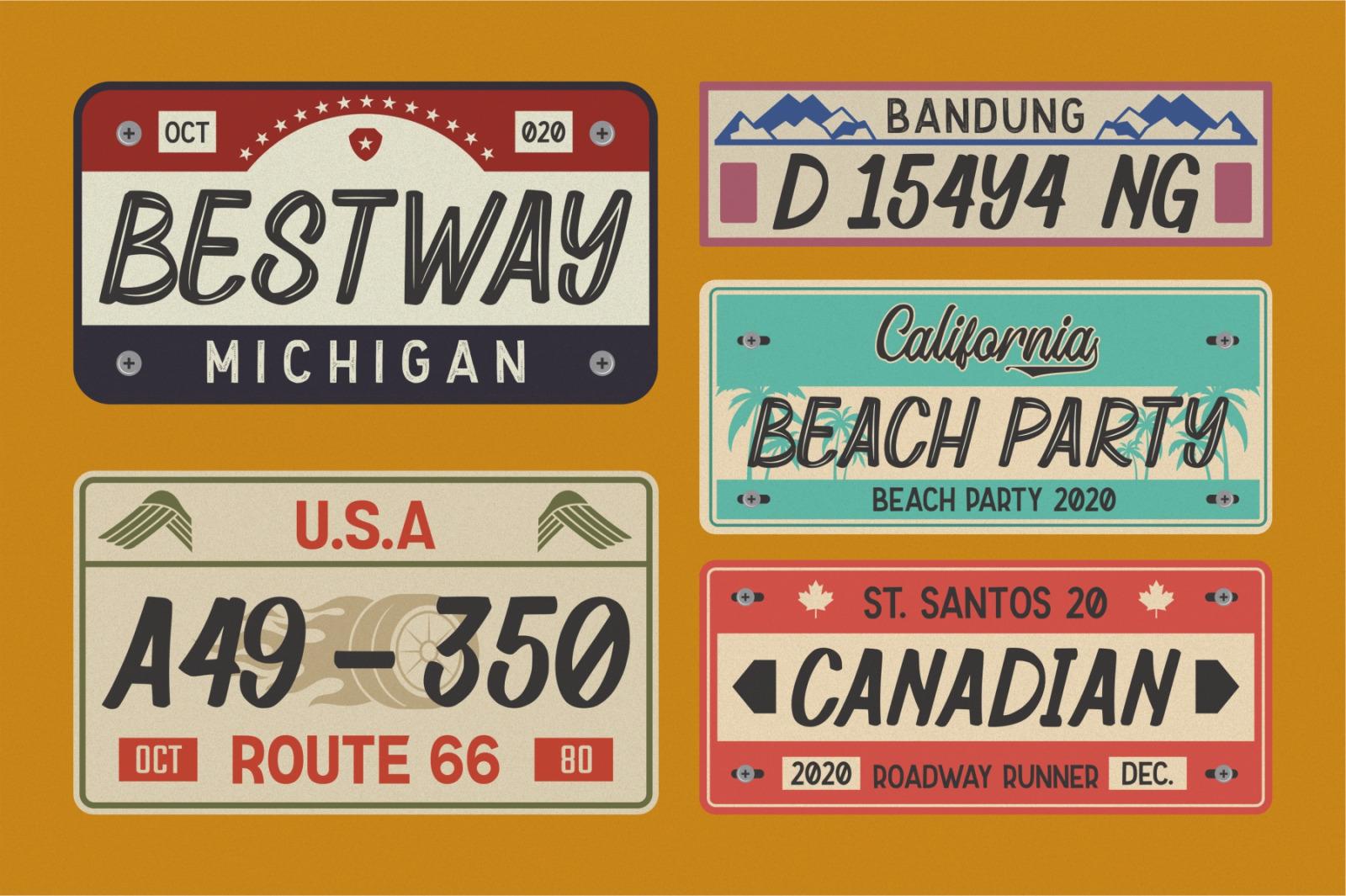 Retrosey - Signage Typeface