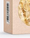 Kraft Paper Box with Farfalle Pasta Mockup