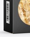Paper Box with Farfalle Pasta Mockup