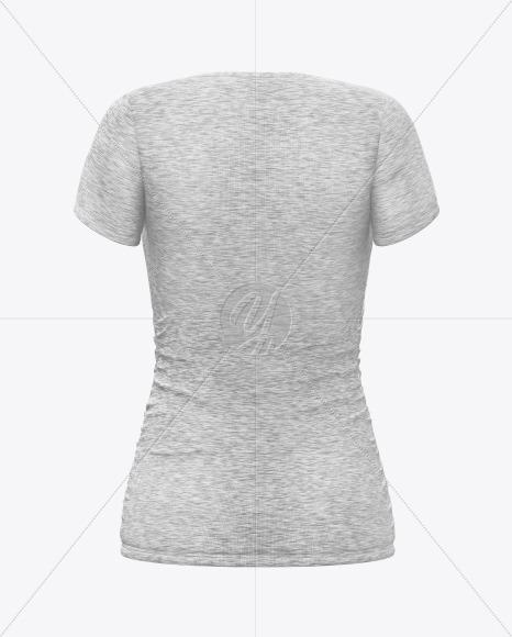 High Resolution White T Shirt Mockup