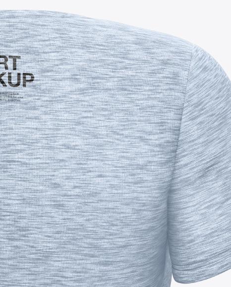 Melange Maternity T-Shirt Mockup