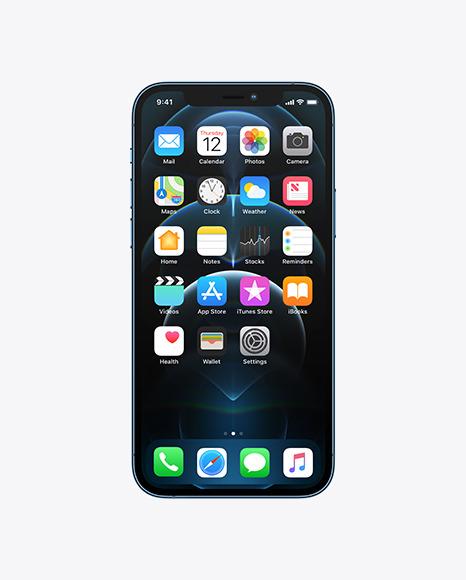 iPhone 12 Pro Frontal Mockup