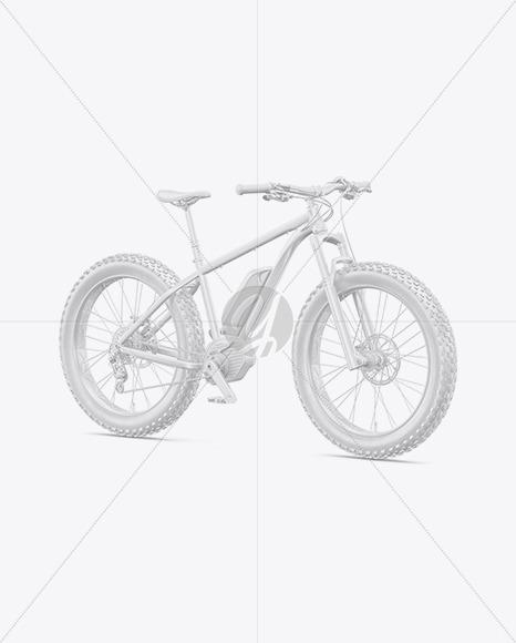 Fat Bike Mockup - Half Side View - Yellowimages Mockups