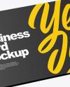 Plastic Card Holder Mockup