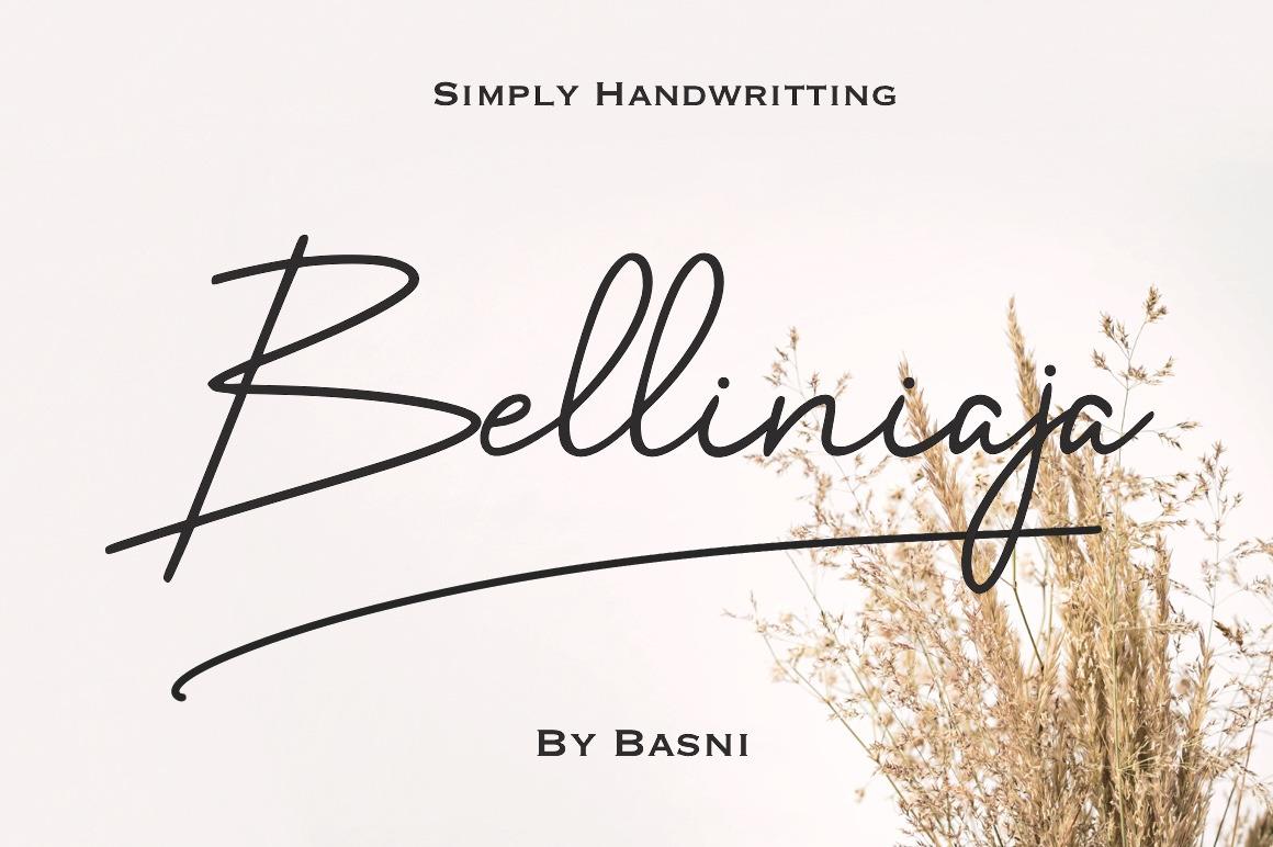 Belliniaja Font