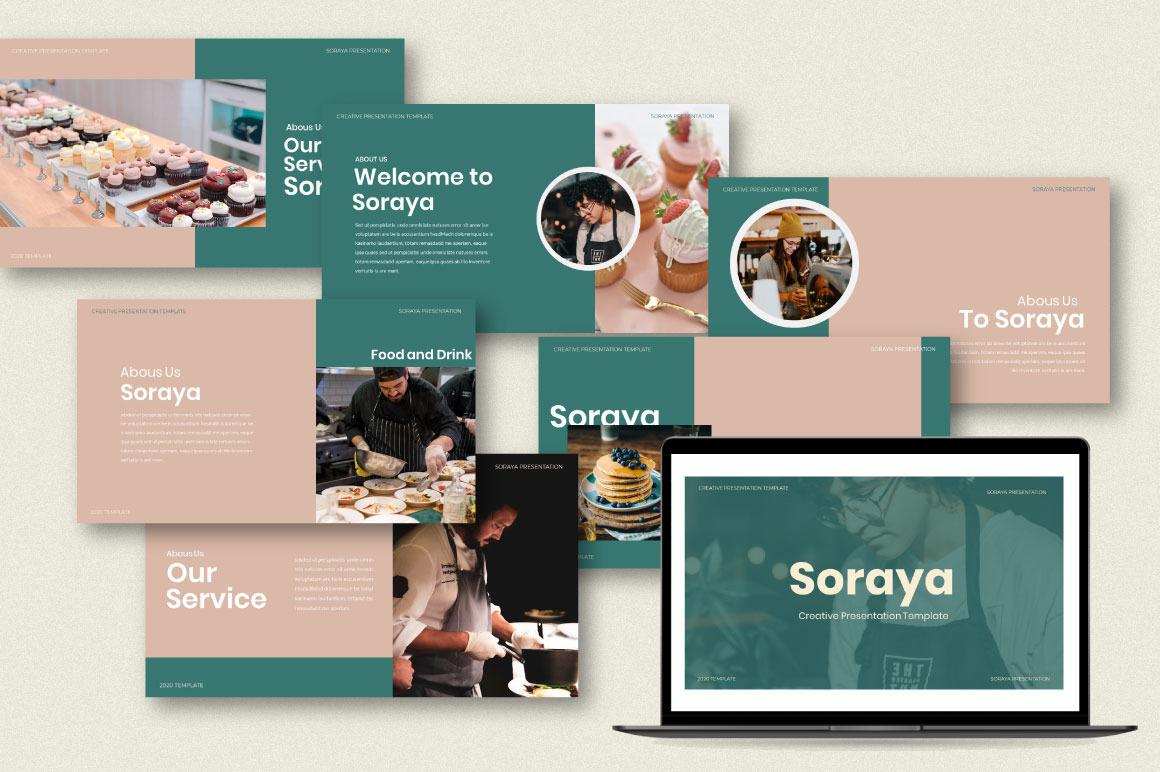 Soraya Creative Powerpoint Template
