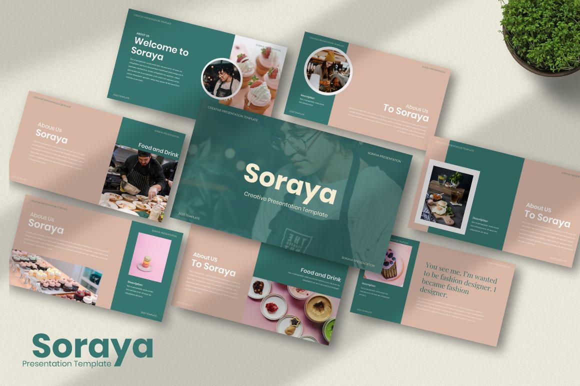 Soraya Creative Google Slides Template