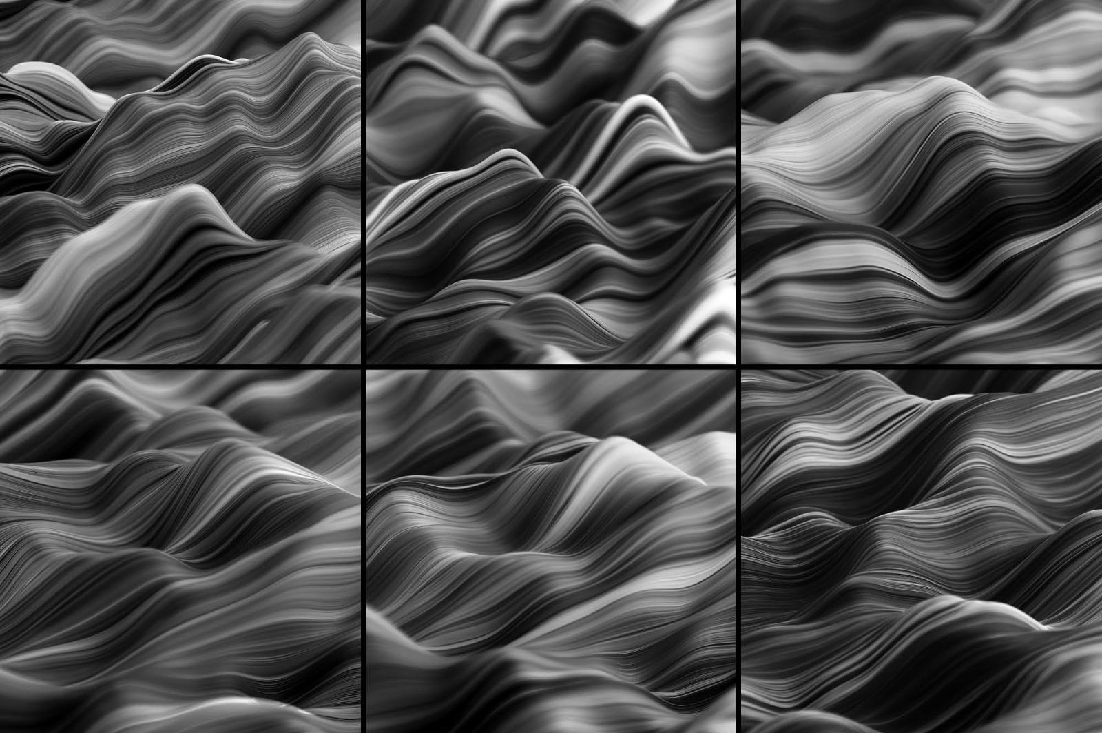 Ripple: Fluid Wavy 3D Lines
