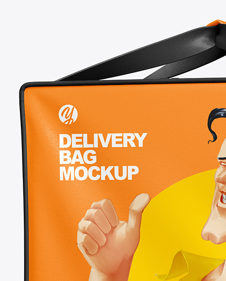 Delivery Bag Mockup - Front View
