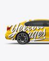 Luxury Car Mockup - Side View