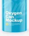 Glossy Oxygen Can W/ Inhaler Cap