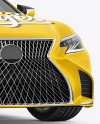 Luxury Car Mockup - Half Side View