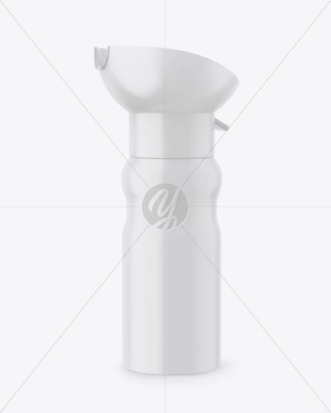 Matte Oxygen Can W/ Inhaler Cap