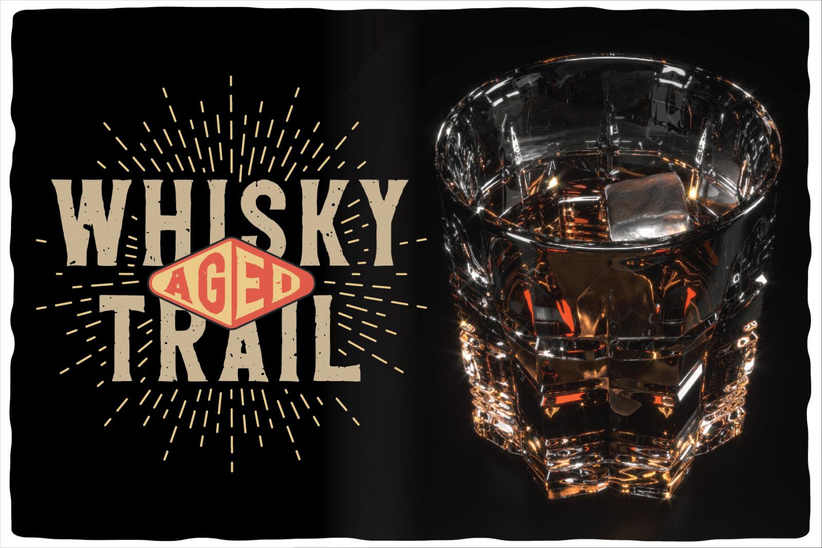 Whisky Trail Font + bonus