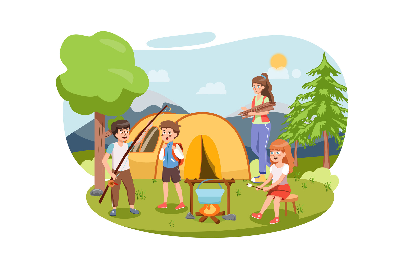 M157_Kindergarten Illustrations