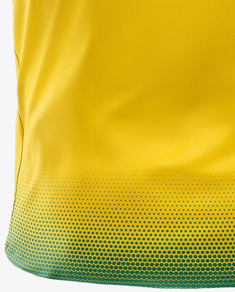 Men's T-Shirt Mockup - Back View