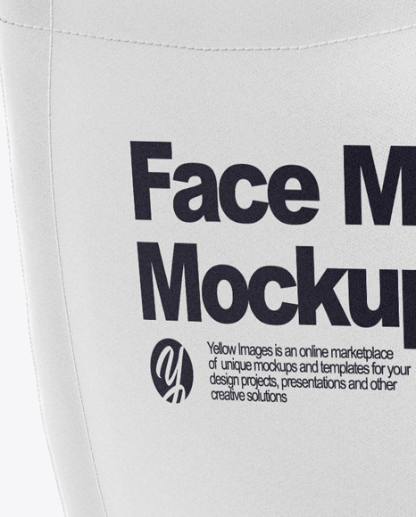 Face Mask with Strap Adjusters