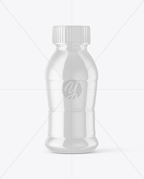 Download 30 330ml Clear Glass Bottle With Red Drink Yellowimages PSD Mockup Templates
