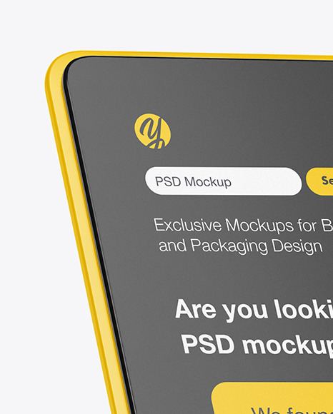 Digital Desktop Tablet Mockup