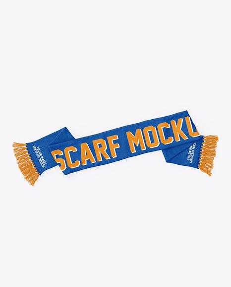 Fan Scarf Mockup