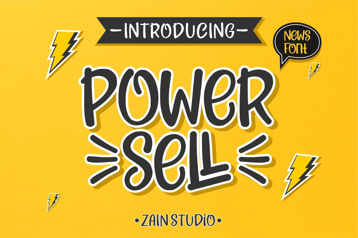 Power Sell Font