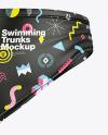 Matte Swimming Trunks Mockup