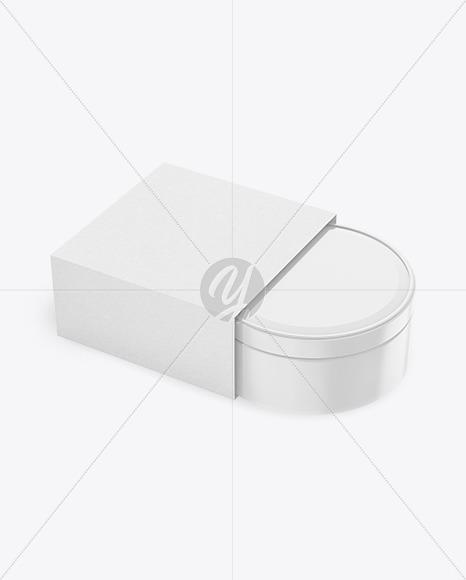 Cosmetic Cream Box Mockup