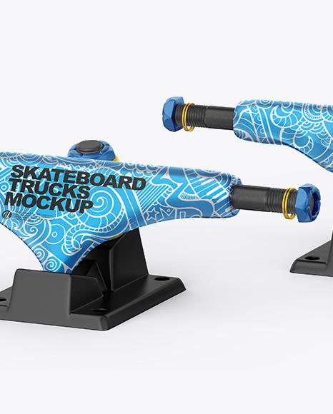 Skateboard Trucks Mockup
