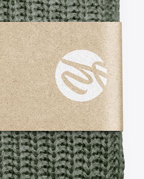 Folded Sweater Mockup