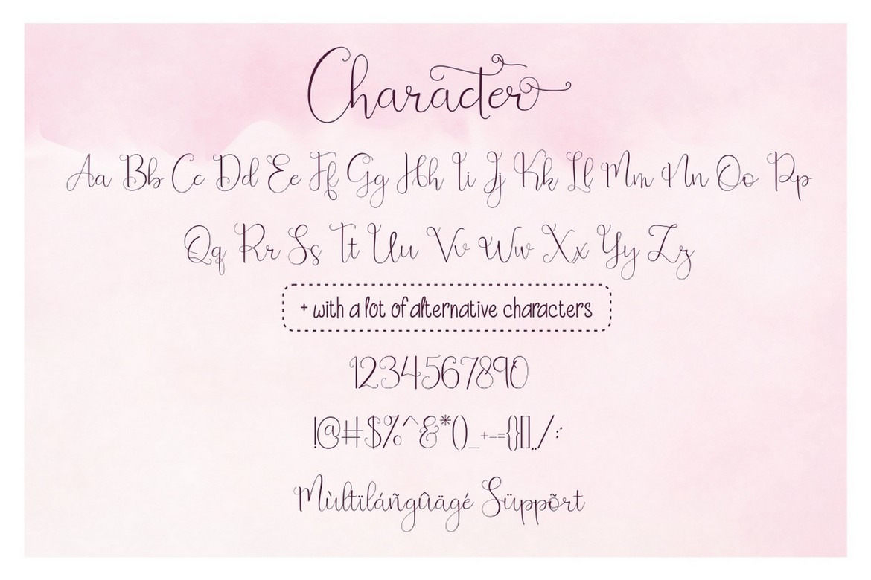 Beauty and Love - Modern Script Font