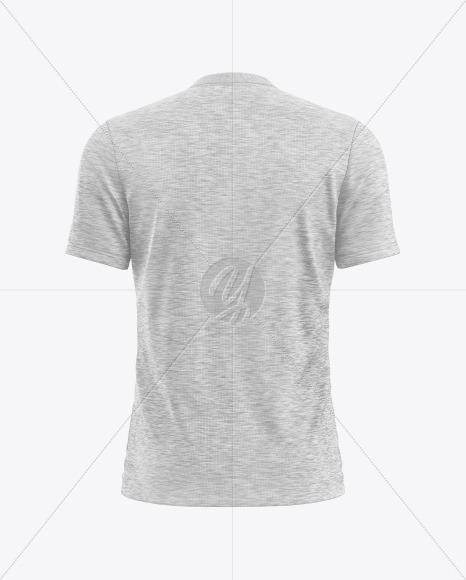 Melange Men's T-Shirt Mockup