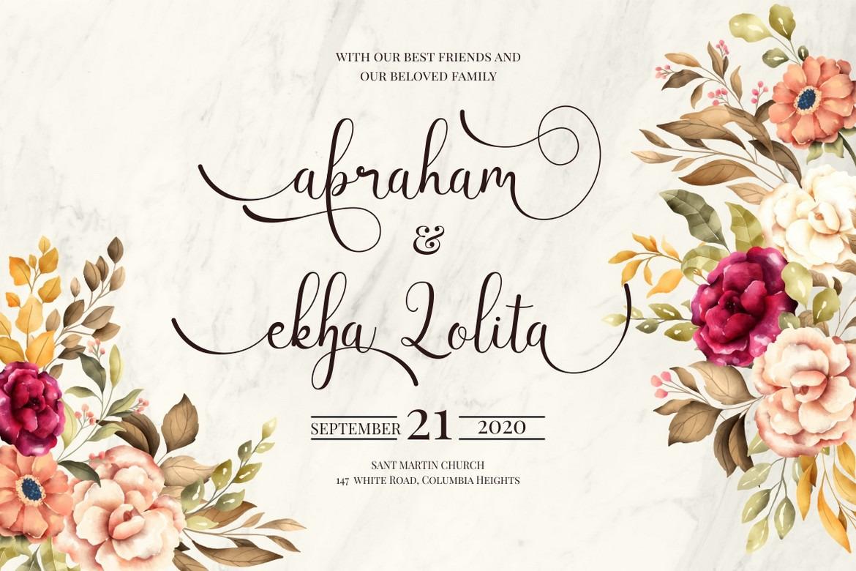 Latisha - Elegant Modern Script Font