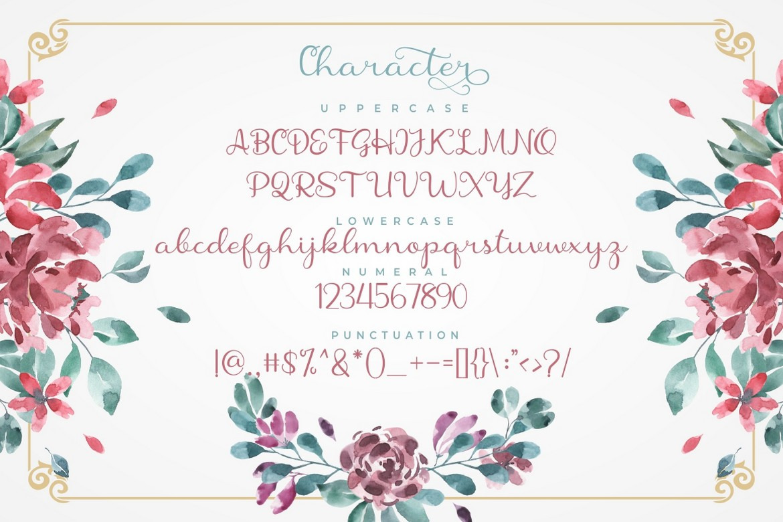 Shanela - Romantic And Modern Script Font