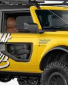 Off-Road SUV Mockup - Half Side View