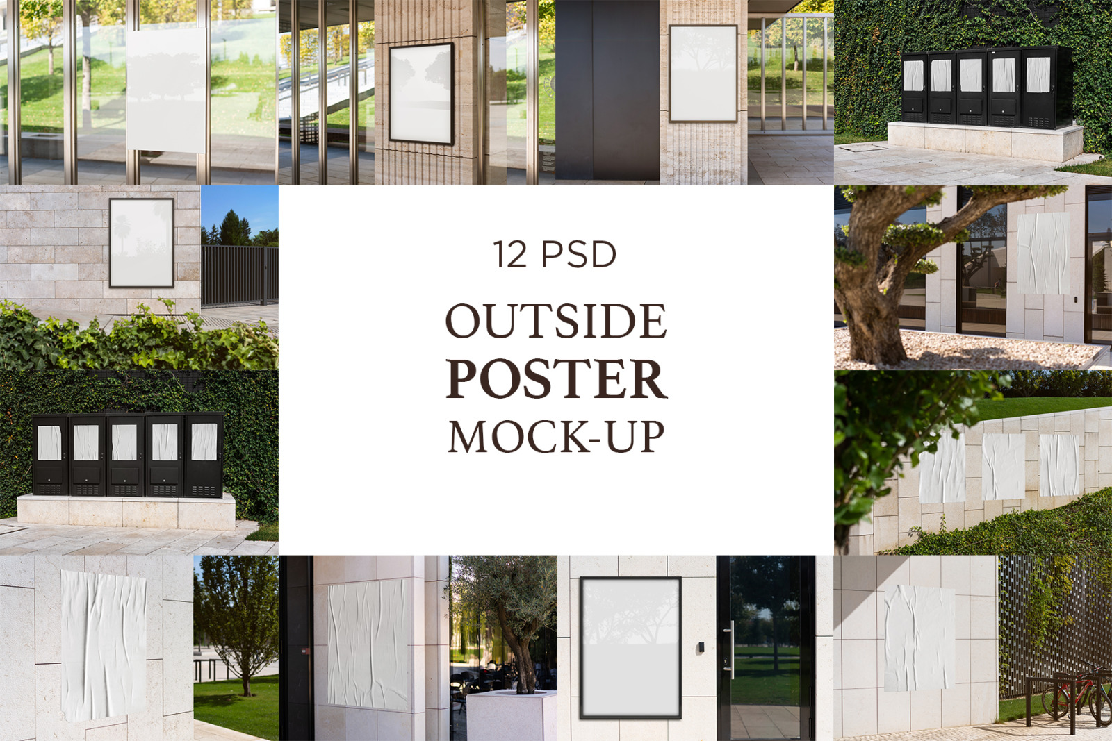 Outside Poster Mock-Up's