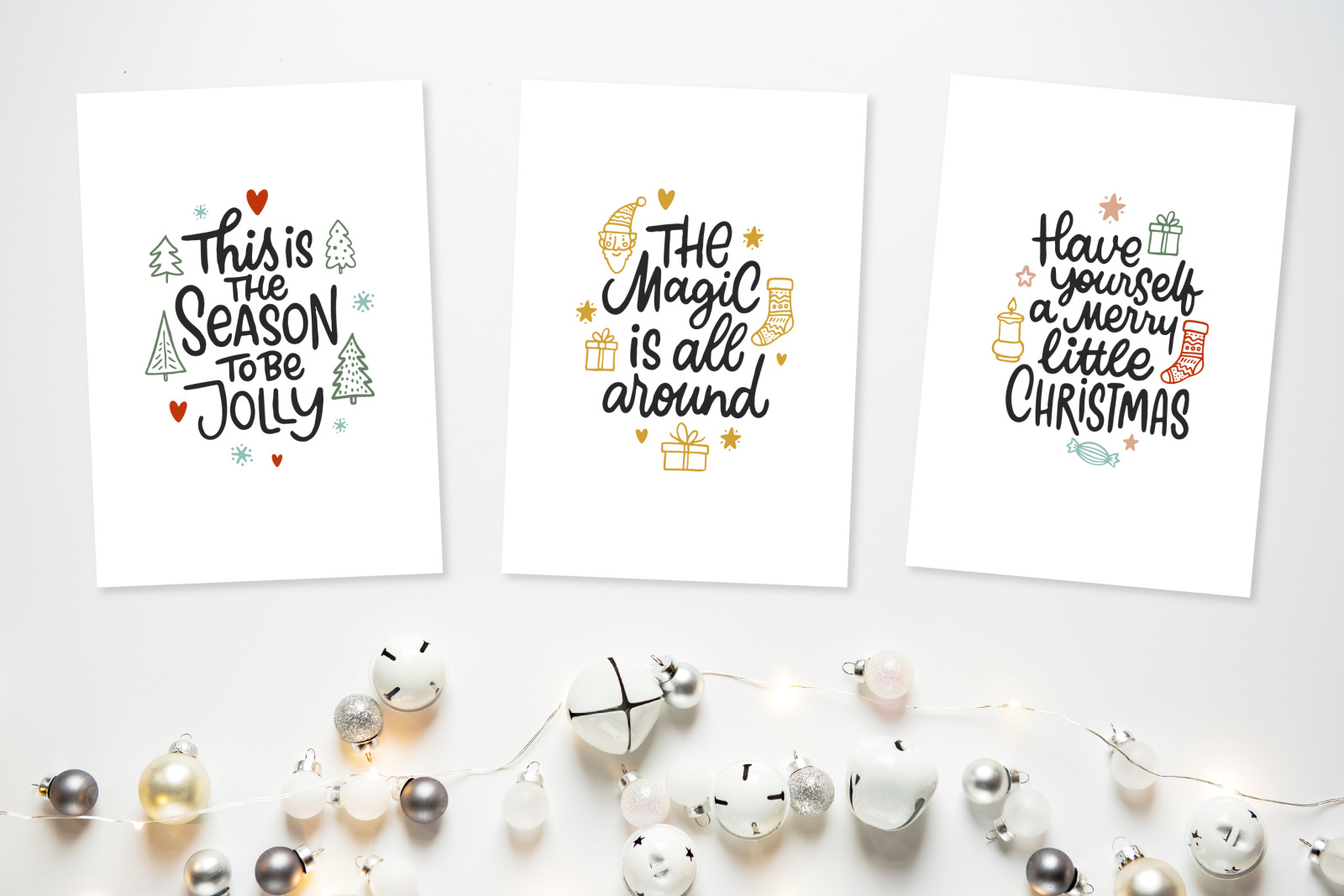 Holly Jolly Christmas Set