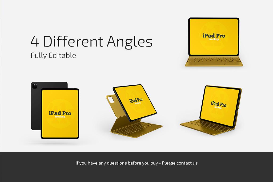 iPad Pro Mockup Set