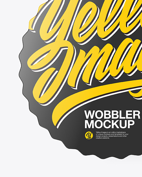 Glossy Wobbler Mockup