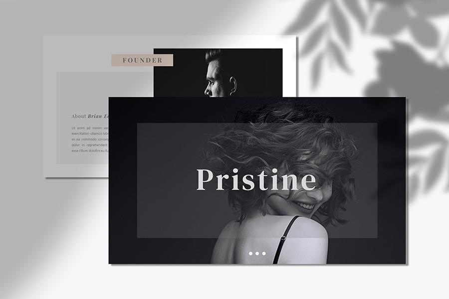 Pristine Powerpoint Template