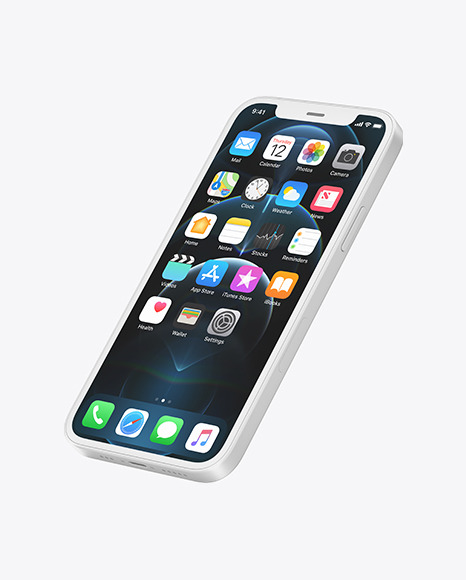 iPhone 12 Pro Clay Mockup